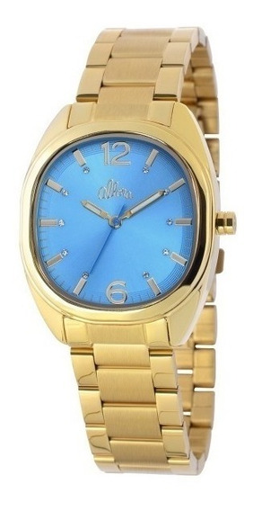 Relógio Allora Grace Feminino Dourado - Al2035lk/4a