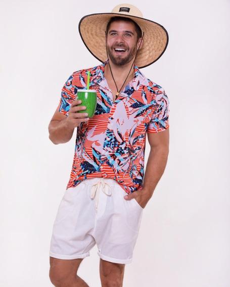 Camisa Floral Masculina Envio Imediato