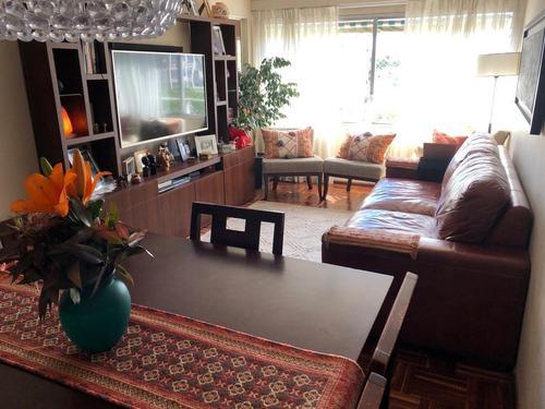 Excelente Apartamento De 3 Dormitorios En Pocitos