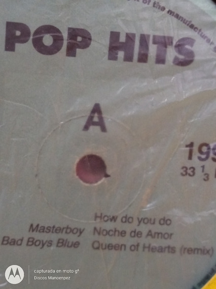 Vinilo Pop Hits Mexcal Crowded House Bee Buzz Masterboy E1