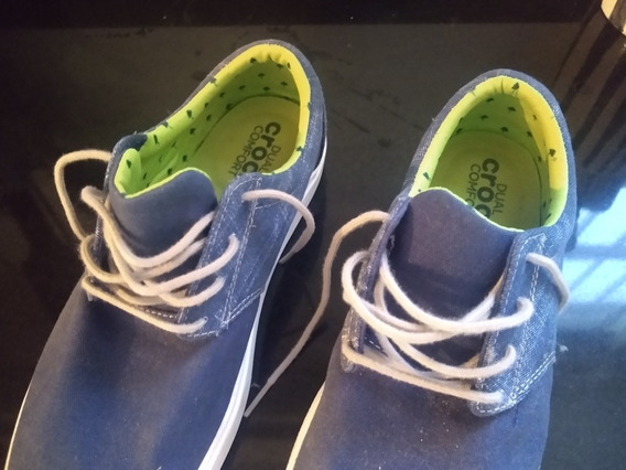 Zapatillas Nauticas Crocs Dual Confort Casi Nuevas