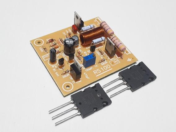 Placa Amplificador Modelo Rs100 Montada.