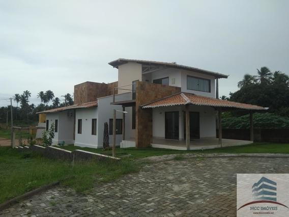 Casa A Venda Em Condomínio Fechado Em São Miguel Do Gostoso