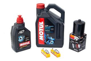 Kit De Afinacion Para Harley Mineral Con K&n, Aceite De Caja