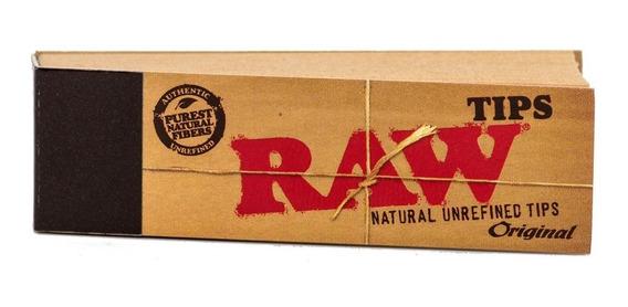 Filtros Carton Tips Raw Classic - Parafernalia