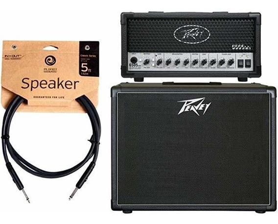 Amplificador Peavey 6505 Mh Mini Guitarra Cabezal Y 112-6 ®