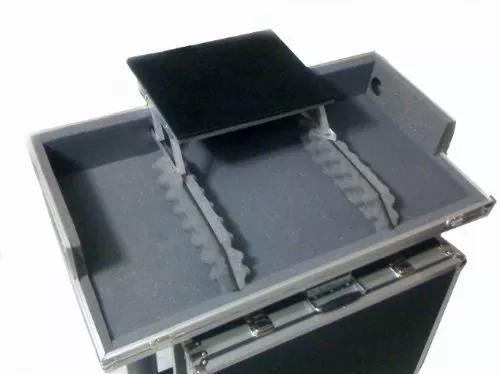 Case Cdj/mixer Com Plataforma De Notebook (preto)