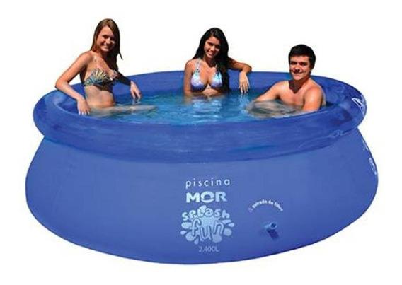 Piscina Splash Fun 2,40m X 63cm 2400 Litros Mor