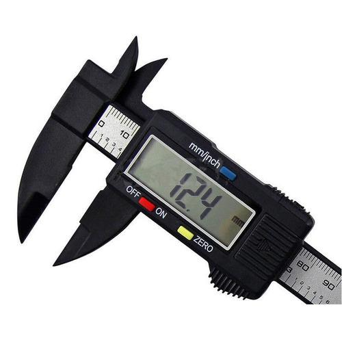 Calibrador Digital Electronico Lcd 150mm 6 Pulgadas Fibra