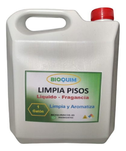 Jabon Liquido Para Pisos X Galon - L a $4750