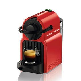 Máquina De Café Inissia Ruby Red Nespresso