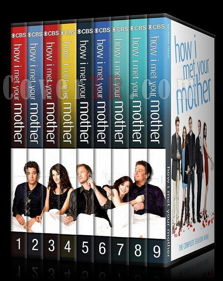 Box How I Met Your Mother Himym