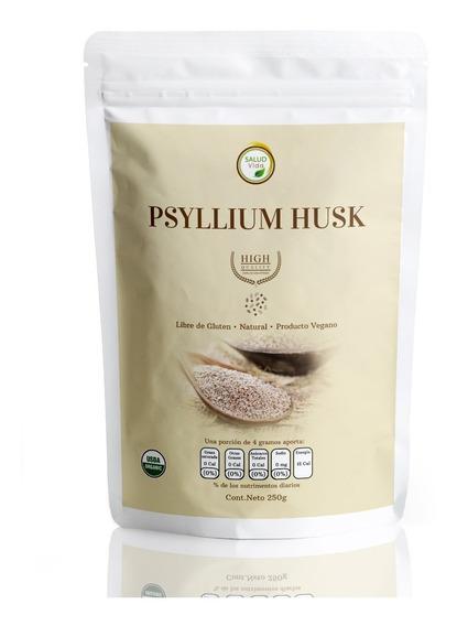 Psyllium Husk 250g Premium Con Envío Gratis