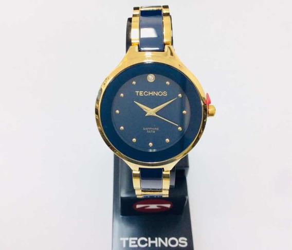 Relógio Technos Feminino Luxo Modelo Cerâmica.