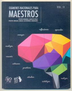 Libro Exámenes Para Maestros Incluye Hoja De Respuestas
