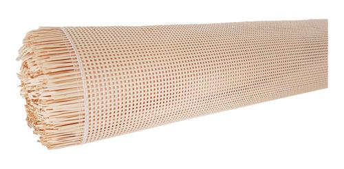 Palhinha Indiana Quadriculada Creme Fibra Cel07 50cm X 1mts