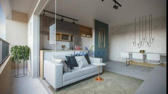 Apartamento Com 2 Quartos À Venda, 64 M² Por R$ 250.000 - Setor Negrão De Lima - Goiânia/go - Ap0674