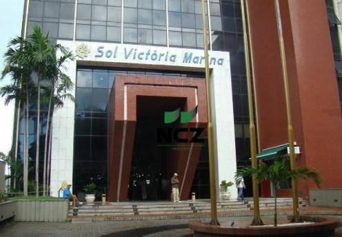 Flat Com 1 Dormitório À Venda, 38 M² Por R$ 239.000,00 - Vitória - Salvador/ba - Fl0023