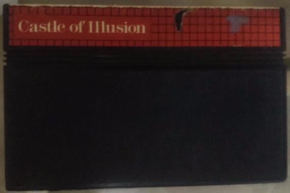 Cartucho Master System Castle Of Illusion Tec Toy ( Mickey )