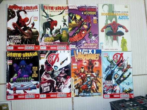 Homem Aranha Vingadores Revistas