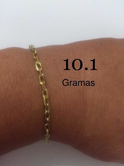 Pulseira Com 10.1 Gramas De Ouro 18k /750 Maciça