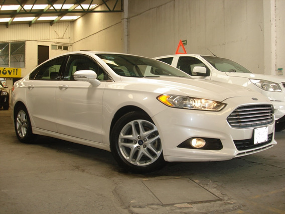 Ford Fusion Se Advance 2016 Piel Qc Gps Factura De Agencia