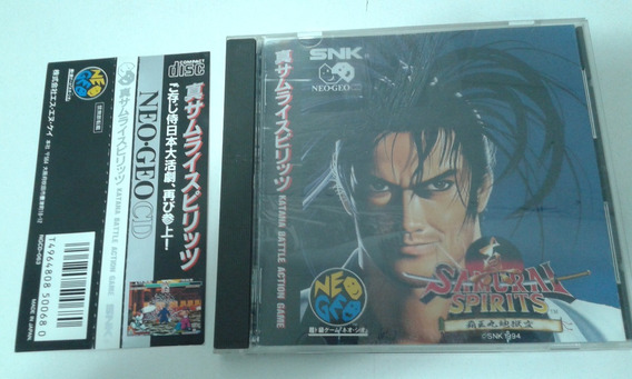 Jogo Neo Geo Cd Samurai Spirits 2 C/ Spine Card Japonês