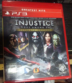 Injustice: Gods Among Us Ultimate Edition.-ps3