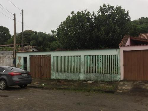 Casa A 800 Mts Do Mar Com Quintal Na Frente - Itanhaém Sp