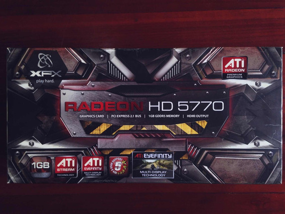 Tarjeta De Video Ati Radeon Hd 5770 De 1gb.