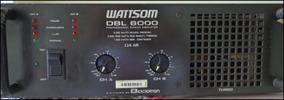 Potencia Dbl 6000 Wattsom