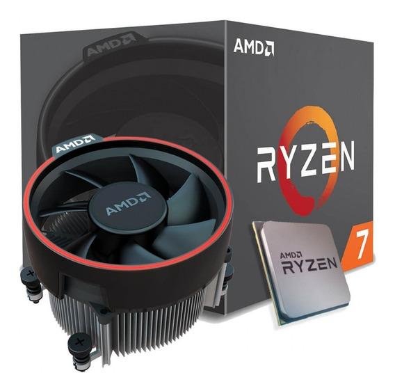 Processador Amd Ryzen 7 2700 / 4.1 Ghz / Am4 / 8 Núcleos!