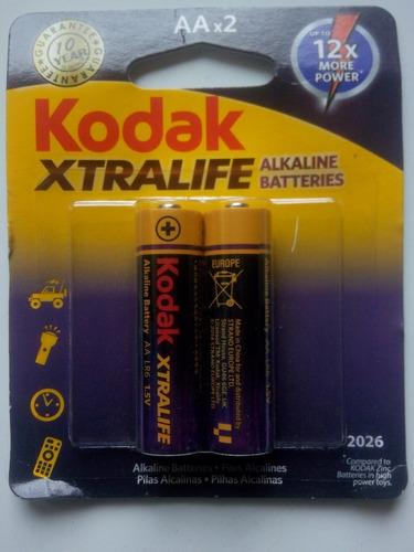 Pila O Bateria Alcalina A A X 02 Unidades (par)