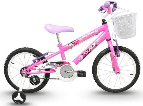 Bicicleta Aro 16 Infantil Feminina Track