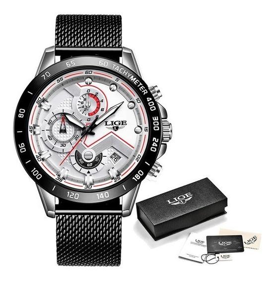 Relógio Esportivo Lige (importado + Prova D