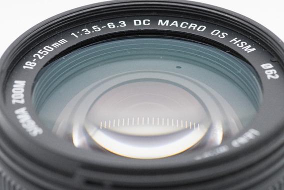 Lente Sigma Dc Macro Os Hsm 18-250mm F3.5-6.3 Para Nikon
