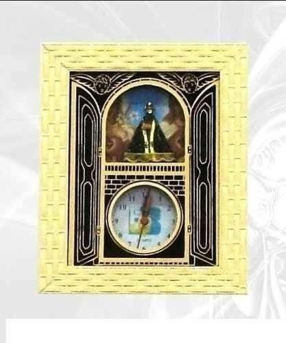 Quadro Relógio Nossa Senhora Aparecida E Sagrado Coração