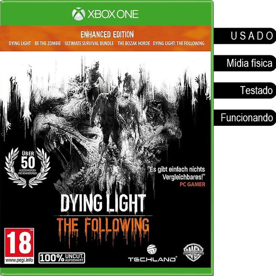 Dying Light The Following Enhanced Edition Xbox One Usado