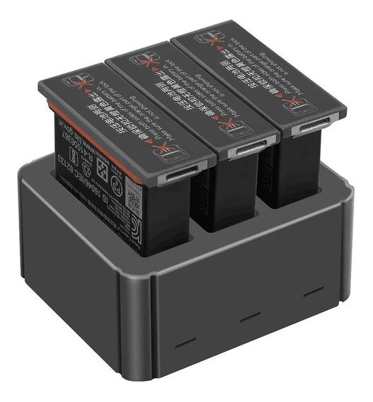 Hub Carregador De Baterias Pra Dji Osmo Action - Marca Yx