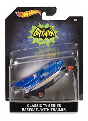 Batman Batibote Bote Hot Wheels Tv Classic Consulte Precio