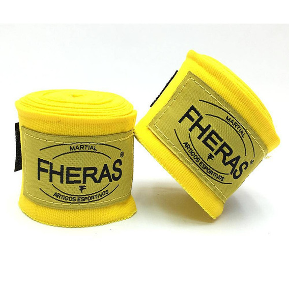 Bandagem Elástica 3,5 Metros Fheras Amarelo
