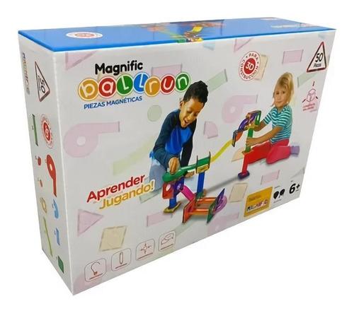 Bloques Imanes Magneticos Magnific Laberinto 50 Piezas