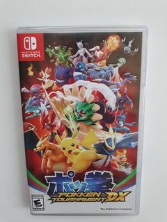 Pokemon Pokken Tournament Dx Nintendo Switch Nuevo Y Sellado