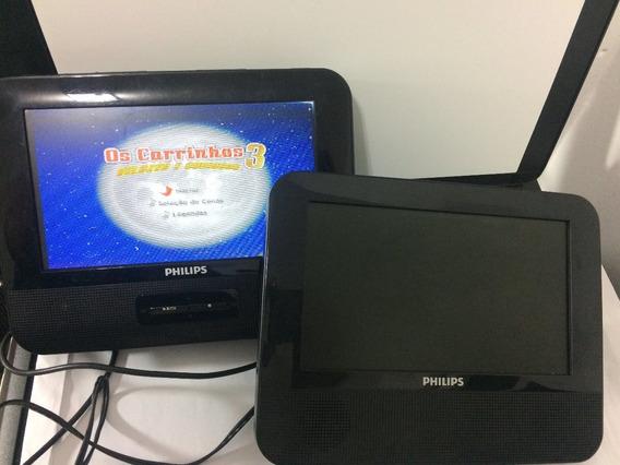 Dvd Portatil Philips Com 2 Telas