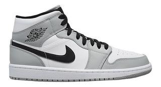 Air Jordan 1 Mid Light Smoke Grey Og Low 3 4 5 6 11 Chicago