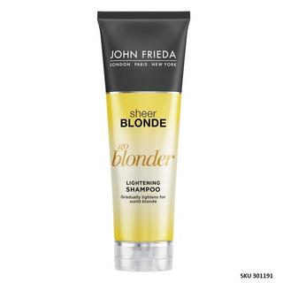 Shampoo Aclarador John Frieda Extracto Bergamota Manzan W01