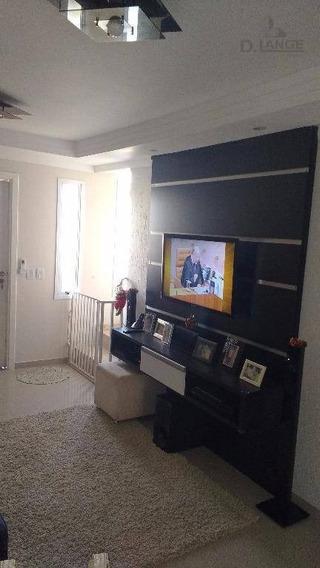 Vendo Cond. Fech. Casa Com 2 Dormitórios À Venda, 70 M² - Pxmo Av. Amoreiras E Paulistão Campinas/sp - Ca10388