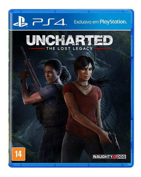 Uncharted: The Lost Legacy - Ps4 - Mídia Fìsica