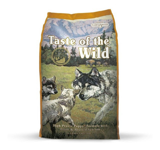 Alimento Taste Of The Wild Bisonte Y Venado Asado Cachorro P