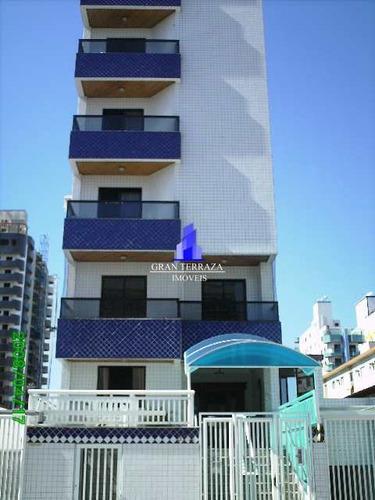 Apartamento Com 2 Dorms, Guilhermina, Praia Grande - R$ 325 Mil, Cod: 1552 - V1552